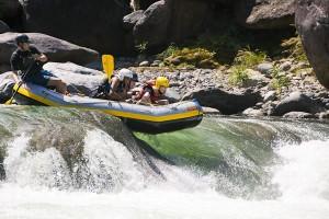 Rafting in Rio Cangrejal