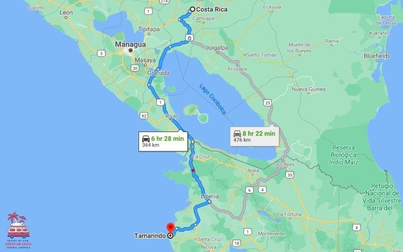 Costa Rica Border - Tamarindo