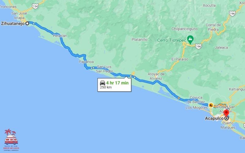 Ixtapa to Acapulco