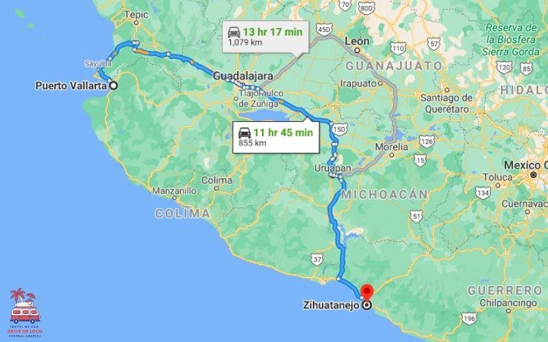 Puerto Vallarta – Ixtapa & Zihuatanejo