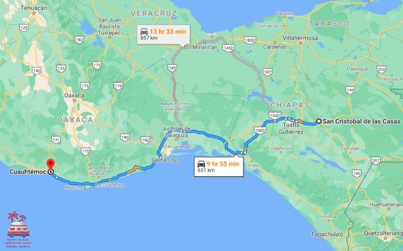 San Cristobal de Las Casas - Cuauhtémoc (Route 1 Cont.)