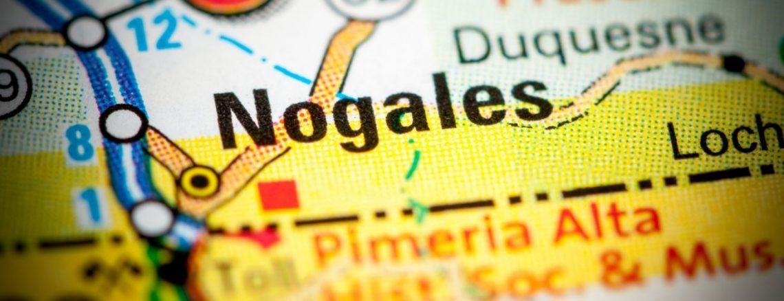 Nogales Arizona - Mexican Border