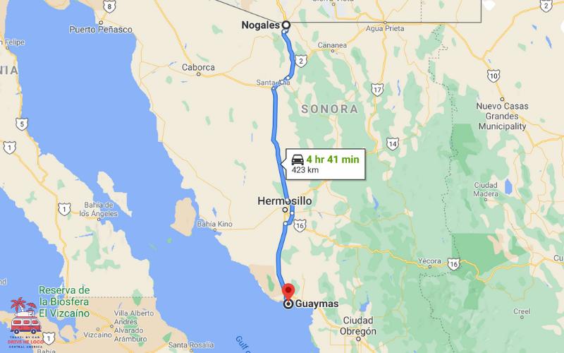 Nogales, Mexican - Guaymas & San Carlos