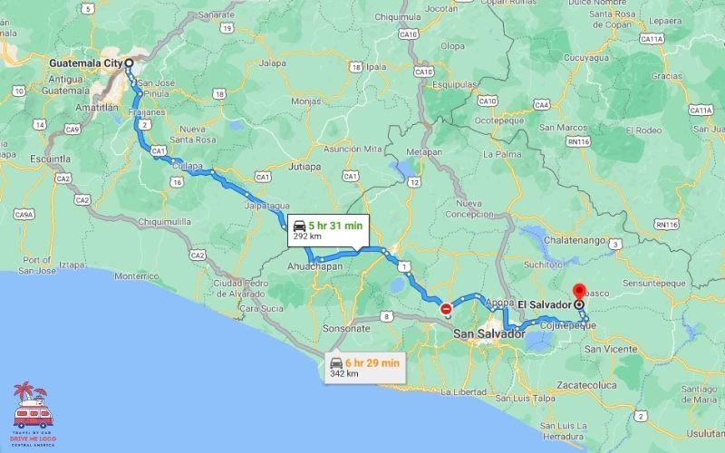 Guatemala – El Salvador