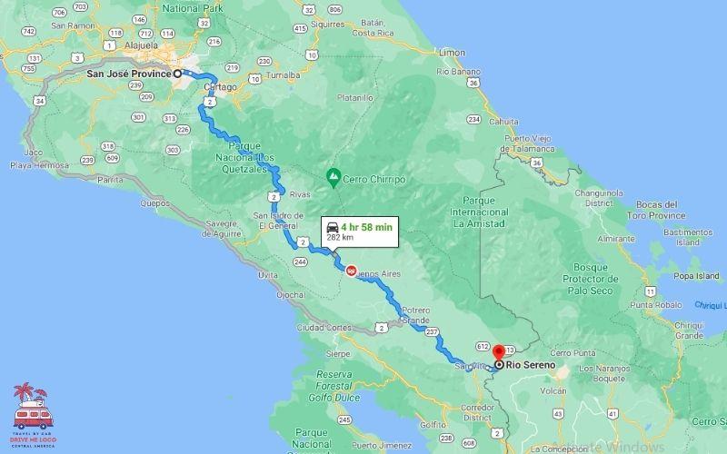 San Jose - Panama Border